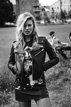 Rock 'n' Roll Style ✯  Kate Moss | W magazine September 2014