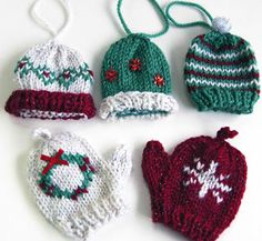 163 best Christmas Knitting Ideas images on Pinterest | Christmas ...