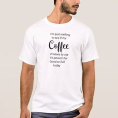 #Good or Evil coffee T-Shirt - #funny #coffee #quote #quotes