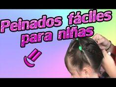 Peinados faciles para niñas =) - YouTube
