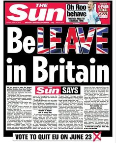 The Sun Brexit Stance Nothing To Do With Rupert Murdoch, Trevor Kavanagh Says