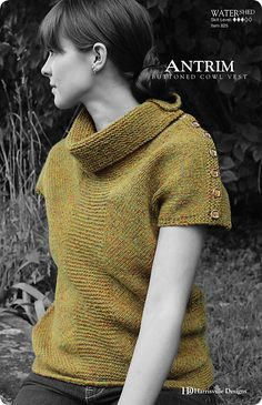 Ravelry: ANTRIM pattern by Mercedes Tarasovich-Clark