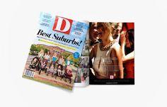 D Magazine Advertising & Sales Campaign Copywriting, Design, Art Direction & Creative Direction - Frances Yllana francesyllana.com