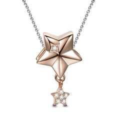 #BFCM #CyberMonday #Soufeel - #Soufeel Stars Necklace Rose Gold - AdoreWe.com