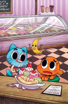 Cover for The Amazing World of Gumball Get it from BOOM! The Amazing World of Gumball Cartoon Network Shows, Cartoon Shows, Cartoon Characters, Warner Bros Television, Adventure Time, Comics Online, Amazing Spider, Anime, Darwin
