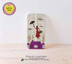 3D Mary Poppins iPhone case-Mary Poppins 3D iPhone by naturapicta