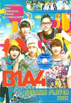 (K. TV Shows) B1A4 Sesame Player Korean Tv Shows, B1a4, Movies, Movie Posters, Films, Film Poster, Cinema, Movie, Film