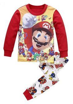 4b954bb4930d4 Super Warm Cotton 2ps Set Pyjamas Baby Boy Pajamas