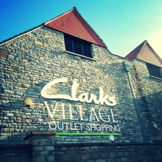 Clarks Village Outlet Shopping in Street, Somerset
