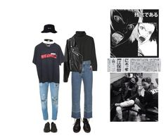"""""""Без названия #149"""" by starlord-8 ❤ liked on Polyvore featuring Dr. Martens, Marni, Rachel Comey, Levi's, AMBUSH, Vans and Fornasetti"""