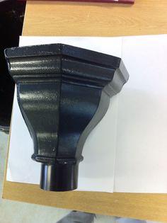 Black fluted design