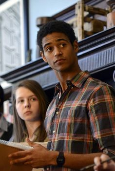 Still of Alfred Enoch in How to Get Away with Murder(2014)  - He played Dean Thomas in Harry Potter