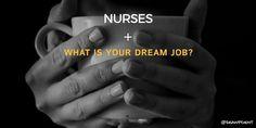 [Vlog post] Nurses: What is your dream job? - http://mystrongmedicine.com/nurses-what-is-your-dream-job/?utm_campaign=coschedule&utm_source=pinterest&utm_medium=Sean&utm_content=Nurses%3A%20What%20is%20your%20dream%20job%3F