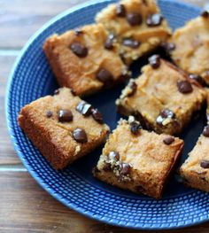 The Best Coconut Flour Chocolate Chunk Bars
