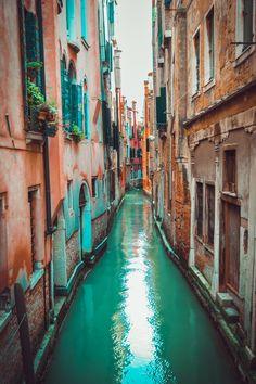 Water road by Natalie Rezanova, Venice, Italy