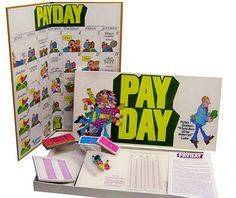 Pay Day - I can't remember how to play this game but I know I used to love it!