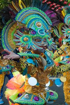 Masskara Festival In Bacolod by Stacey Leigh Gonzalez - Fine Art Prints and Posters for Sale