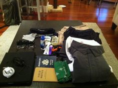 mmmm packing / ten days in japan / scottevest (we love seeing how people pack our gear!)