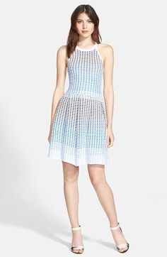 Parker 'Lorraine' Knit Fit & Flare Dress available at #Nordstrom