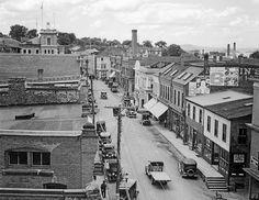 View of Water Street Eastport, ME Ca.1925
