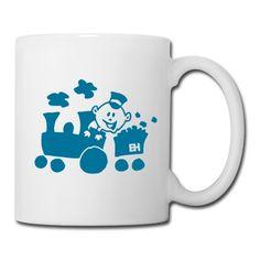 Train mug. #Spreadshirt #Cardvibes #Tekenaartje #SOLD