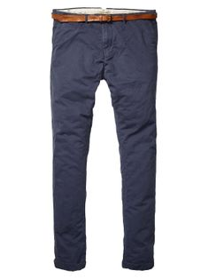 Basic Pima Cotton Twill Chino > Mens Clothing > Pants at Scotch & Soda Scotch Soda, Dressing, Essentials, Husband, Socks, Mens Fashion, Guys, Jeans, Winter