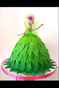 Tinkerbell Fondant Cake(Back)