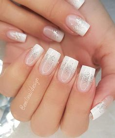 "Wedding Nail Designs for Brides, bridal nails nails bride,wedding nails with glitter, nails for wedding guest makeup nails The most stunning wedding nail art designs for a real ""wow"" Simple Wedding Nails, Wedding Nails For Bride, Bride Nails, Wedding Nails Design, Wedding Makeup, Nails For Brides, Wedding Day Nails, Bridal Makeup, Wedding Designs"