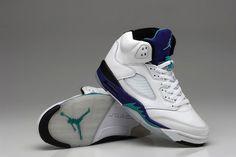cheap for discount fffa8 efd9c Air Jordan 5 Men Shoes(1 1) White Grapes,Price  50