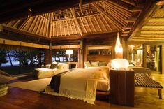North Island The Luxury Private Isand In The Seychelles Beautiful Villas, Luxury Apartments, Luxury Homes Interior, Island Beach, Seychelles Resorts, Seychelles Islands, Permanent Vacation, Dark Wooden Floor, Tropical Architecture