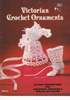 Victorian Crochet Ornaments от SparrowFinds на Etsy