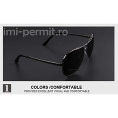 Ochelari de soare barbatesti polarizati, marca Merry's Sunglasses, Model, Color, Fashion, Moda, Fashion Styles, Scale Model, Colour
