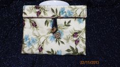 Tea Wallet Cozy in Cream Background with by CreationsBoutiques, $12.99
