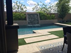 Amazing backyard I just saw at a model home!