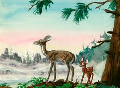 #Bambi visual development art