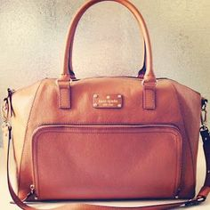 So I pinned this because I want it as a purse but apparently it's a diaper bag....oh well Kate Spade