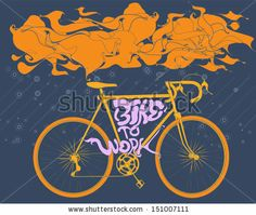 cool vecor #bycicle #vector #digitalart # bike #trend #lifestyle #work