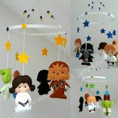 Sterne Krieg hängenden Krippe mobile / Star Wars von MySweetfelt