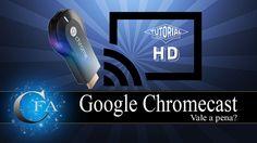 nice Google Chromecast Vale a pena? Check more at http://gadgetsnetworks.com/google-chromecast-vale-a-pena/