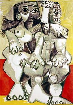 Picasso: Homme et femme (1968)