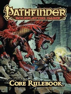 Pathfinder RPG Core Rule Book... One word: Awesome!