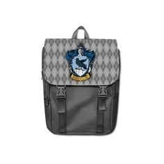 LaHuo Harry Potter Ravenclaw Logo Custom Design Shoulders Backpack... ($40) ❤ liked on Polyvore featuring bags, backpacks, black backpack, backpacks bags, knapsack bags, logo backpacks ve logo bags