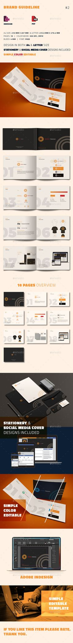 Brand Manual Template vol3 Brand manual - how to manual template