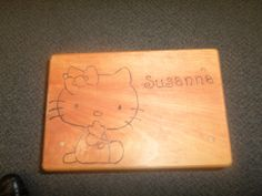 Hello Kitty Custom made step stool made to order