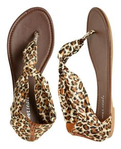 Can't wear stilettos, but still want spots...how about these sandals? These are perfect for summer! (Wet Seal)