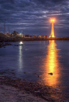 Beacon of light St. Kilda Lighthouse
