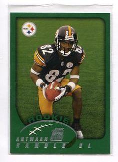 ANTWAAN RANDLE EL 2002 Topps #337 ROOKIE Steelers INDIANA Hoosiers