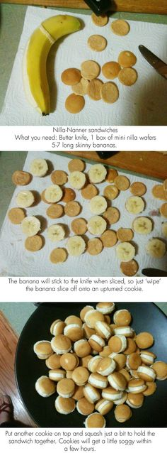Good snack ideas for the kids.
