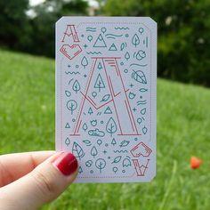 trendgraphy:  Playing Card by Eni Simonyi.                                                                                                                                                                                 More