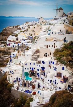 Santorini, Greece beautiful places for travel Places Around The World, Travel Around The World, Around The Worlds, Dream Vacations, Vacation Spots, Vacation Rentals, Romantic Vacations, Vacation Travel, Italy Vacation